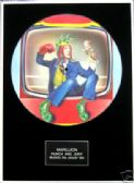 "MARILLION - Framed 12"" Picture Disc - PUNCH AND JUDY"